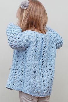 \Helena Bean Cardigan pattern by Jenni Lansing