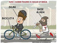 Passeio de bicicleta...