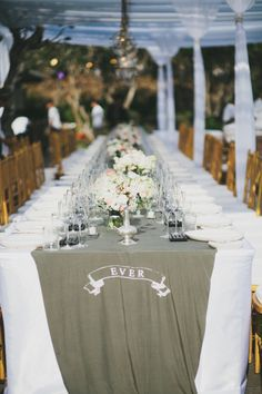 #table-runners  Floral Design: Gloriosa - gloriosabaliwedding.com/ Design and Planning: Paper Diamonds - www.paper-diamonds.com/ Photography: Terralogical - www.terralogical.com/  Read More: http://www.stylemepretty.com/2013/05/08/bali-wedding-from-paper-diamonds/
