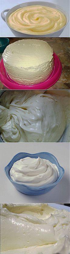 8 самых простых кремов для тортов и других десертов | Готовим вместе