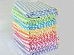 Beach Candy Basic Turkish Bath Towels