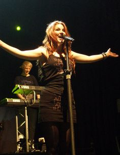 Delain's Charlotte Wessels, Leamington Spa Assembly, 2 May 2011