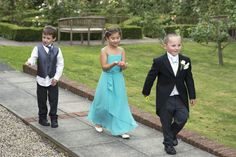 Young wedding guests