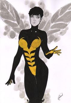The Avengers. Wasp
