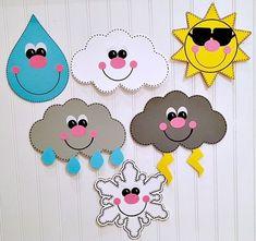 Sunday School Activities, Activities For Kids, Weather Activities, Sun Crafts, Paper Crafts, Toddler Crafts, Preschool Crafts, Weather For Kids, Weather Unit