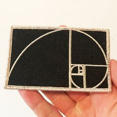 4 iron-on embroidered patch with metallic silver thread. Diy Patches, Cool Patches, Pin And Patches, Iron On Patches, Iron On Embroidered Patches, Embroidery Patches, Morale Patch, Fabric Patch, Cool Pins