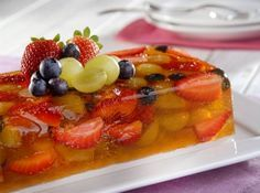 Terrine de Frutas    #cybercook #recipes #foodlovers #dessert #fruits #terrine #sobremesa