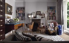Living room ideas   grey interiors   The Chromologist