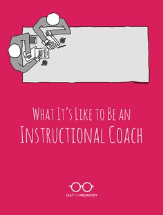 What It's Like to Be an Instructional Coach Lately I hear more and more people describing themselves as instructional coaches, so I thought it was time to take a closer look at the work they do. Instructional Coaching, Instructional Technology, Instructional Strategies, Teaching Strategies, Teaching Resources, Teaching Ideas, Classroom Resources, School Leadership, Educational Leadership