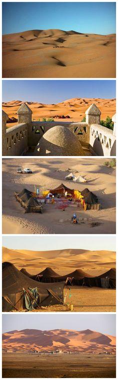 TRAVEL Merzouga Dunes * Merzouga, Morocco