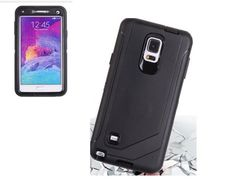 Hybrid Heavy Duty Shockproof Defender Case For Samsung Galaxy Note 4 with Clip #UnbrandedGeneric