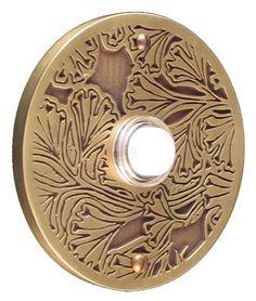 Need to get new doorbell. Doorbell Cover, Front Door Porch, Exterior Paint Colors, Ding Dong, Door Knockers, Westminster, Antique Brass, Interior And Exterior, Craftsman