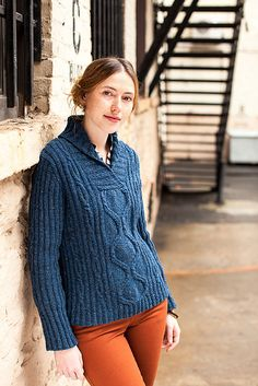 Hathaway by Carol Feller - Wool People Vol. 4 from Brooklyn Tweed