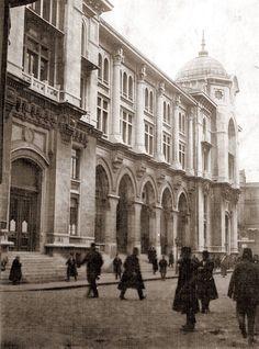 Posta ve telgraf nezareti (Büyük Postane 1912 Sirkeci - İstanbul)