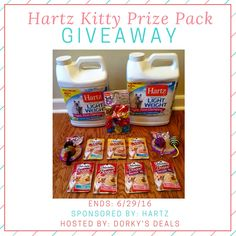 Hartz Kitty Prize Pack Giveaway - ends 6/29 - daily entries