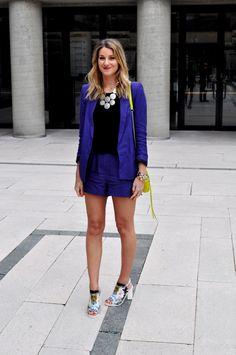 A Haute Mess showing the world how she wears the Stella & Dot Medina Bib Necklace #StellaDotStyle | Stella & Dot. Find it at www.stelladot.com