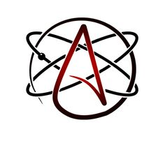 Custom Atheist symbol - Think Atheist