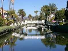 The Canals in Venice Beach, California. I would LOVE to live here!