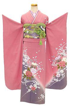 #Ebay, #Kimono, #Travel, #Silk, #Japan, #Kawaii