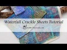 In this Waterfall Crackle polymer clay tutorial I'll teach you how to use a cool new product I've been playing around with. It's got its challenges, but it c. Polymer Clay Canes, Fimo Clay, Polymer Clay Jewelry, Polymer Beads, Plaster Crafts, Clay Crafts, Polymer Project, Clay Videos, Clay Tutorials