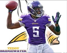 Welcome to The Vikings... QB Teddy Bridewater  2014 Draft
