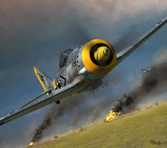 Focke Wulf Fw 190F-8 by Jerry Boucher