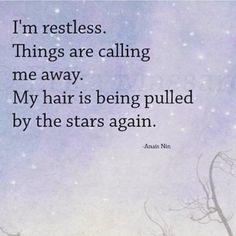 Restless. I can feel that new moon energy already ✨✨ #newmoonvibes #moonchild #luna #etherealluna #restless #restlesssoul #wanderlust #seek #wander #stars #pullingatmysoul