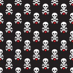 Skull and Red Heart fabric by serkorkin on Spoonflower - custom fabric Badass Wallpaper Iphone, Galaxy S8 Wallpaper, Emo Wallpaper, Heart Wallpaper, Pattern Wallpaper, Wallpaper Backgrounds, Wallpapers, Emo Backgrounds, Bandana Design