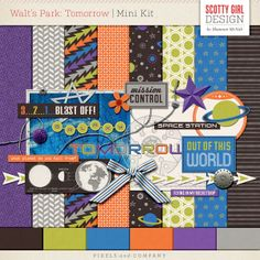 Walt's Park: Tomorrow Mini Kit