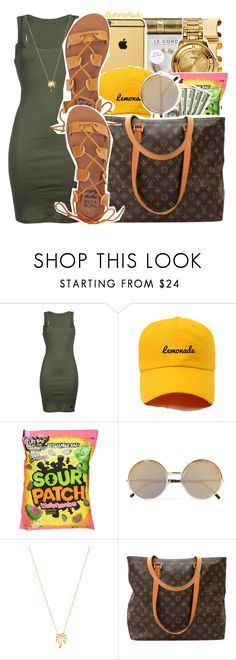 """""""O7•O5•2O17"""" by arionce ❤ liked on Polyvore featuring !M?ERFECT, Cutler and Gross, Joolz by Martha Calvo, Louis Vuitton and Billabong"""