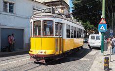 Gelbe Straßenbahn © Carina Dieringer