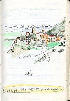 """Del cuaderno: """"Arriba estaba el álgebra negra de las constelaciones"""". 2000 - 2011. Juan Azpeitia."""