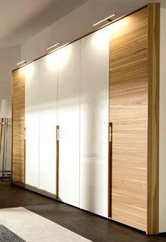Ideas Bedroom White Modern Sliding Doors For 2019 Modern Bedroom, Wooden Wardrobe, Bedroom Cupboard Designs, Wardrobe Design Modern, Bedroom Closet Design, Bedroom Furniture Design, Door Design, Wardrobe Door Designs, Trendy Furniture