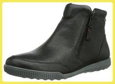Ecco ECCO CRISP, Damen Halbschaft Stiefel, Schwarz (BLACK 11001), 41 EU (7.5 Damen UK) - Stiefel für frauen (*Partner-Link)