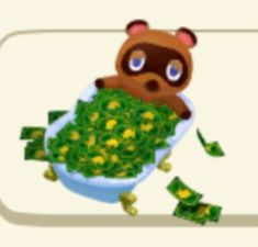 This is the Money Tanuki, reblog and wealth will follow you both in-games and in real life.