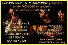 SILVIA TRONCOSO EN CONCIERTO Fundación Guitarra Flamenca. www.fundacionguitarraflamenca.com