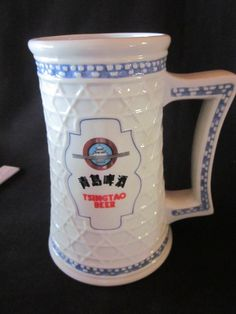 1988 Tsingao China Brewery Beer Stein/Mug/Tankard Franklin Mint Collection