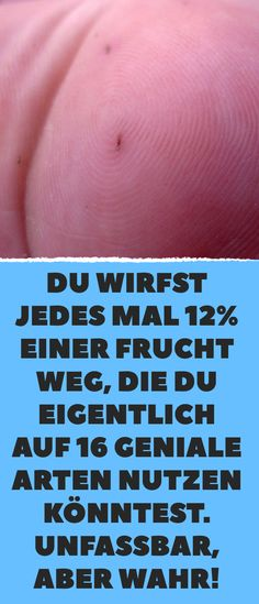 Du wirfst jedes Mal einer Frucht weg, die du eigentlich auf 16 geniale Arten… Each time you throw away of a fruit that you could actually use in 16 ingenious ways. Guter Rat, Clear Your Mind, Salt Dough, Fruit, Helpful Hints, Life Hacks, Health Fitness, Food And Drink, Tips