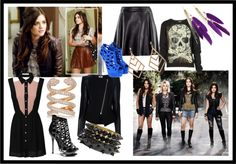 Aria Montgomery/Lucy Hale has fantastic fashion sense. If only I could have her entire wardrobe.