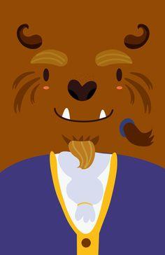 Prince Adam (The Beast) ~ La Belle et la Bête ~ #Disney