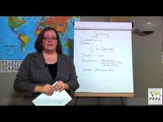 TEFL Class Instruction:  Teaching Speaking in an ESL Classroom