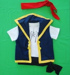 Jake  Jake and the neverland pirates costume  12M to by LoopsyBaby, $23.00
