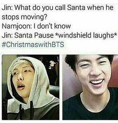 I see this actually happening xD Jin and his jokes