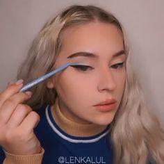 Makeup Eye Looks, Eye Makeup Art, Cute Makeup, Skin Makeup, Clown Makeup Tutorial, Makeup Looks Tutorial, Make Up Looks, Makeup Trends, Maquillage Harry Potter