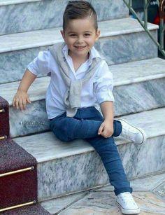Handsome boy😍😍 little boy fashion, kids fashion boy, fashion men, kids Fashion Kids, Toddler Boy Fashion, Little Boy Fashion, Toddler Boy Outfits, Fashion Men, Fashion 2020, Fashion Clothes, Fashion Trends, Outfits Niños