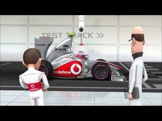 McLaren Animation - Tooned - Episode 01: Wheel Nuts (HD) Mobil by Chemical Corporation (UK) Ltd www.chemcorp.co.uk