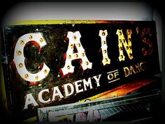 Old Cain's sign