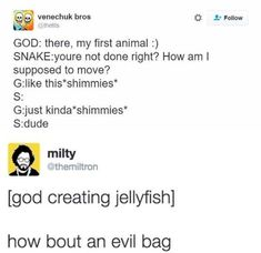 How 'bout an evil bag.