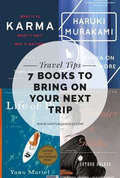 Headed on a trip? You need a book. I've compiled some of my favorite books to bring with you. You won't be able to put them down!