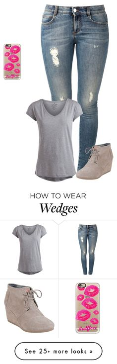 """Sans titre #790"" by harrystylesandliampayne on Polyvore featuring mode, STELLA McCARTNEY, Pieces, TOMS et Casetify"